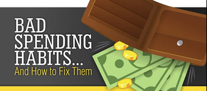 Bad Spending Habits Infographic
