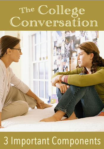 The College Conversation: 3 Important Components | www.TheHeavyPurse.com