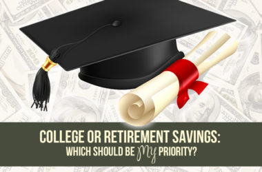 College or Retirement Savings: Which Should Be Priority? | www.TheHeavyPurse.com