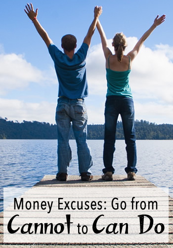 Money Excuses: Go from Cannot to Can Do | www.TheHeavyPurse.com