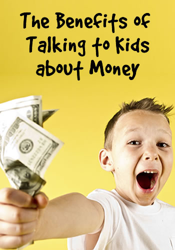 The Benefits of Talking to Kids about Money | www.TheHeavyPurse.com