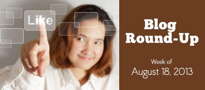 Blog Round-Up: Week of August 18, 2014