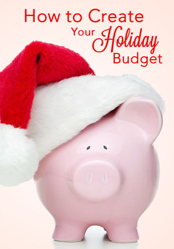 How To Create Your Holiday Budget and Avoid Debt | www.TheHeavyPurse.com #Christmas #Budget
