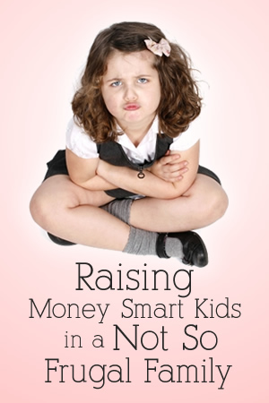 Raising Money Smart Kids in a Not So Frugal Family | www.TheHeavyPurse.com