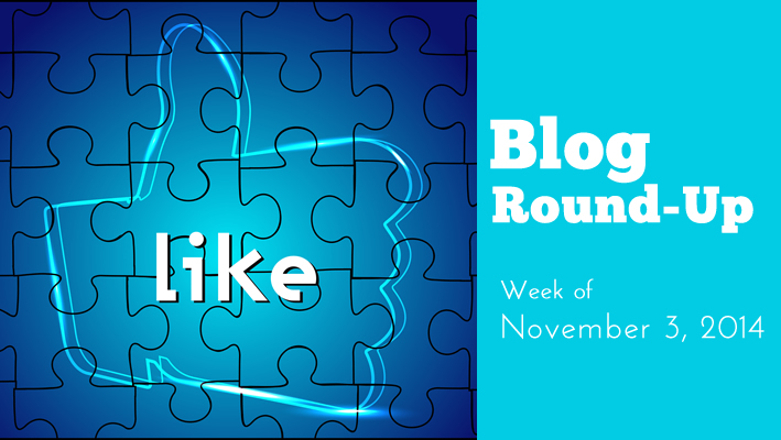 Blog Round-Up: Week of November 3, 2014