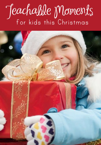 5 Holiday Teachable Moments for Kids | www.TheHeavyPurse.com