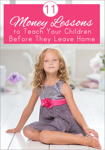 Essential Money Lessons Every Child Must Learn Before Leaving Home | www.TheHeavyPurse.com
