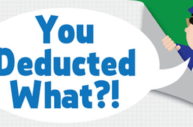 Crazy Tax Deductions #Infographic | www.TheHeavyPurse.com