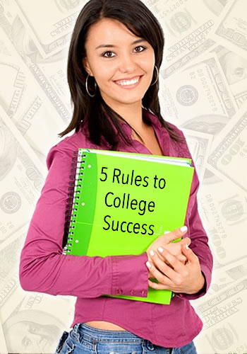 5 Rules to College Success | www.TheHeavyPurse.com
