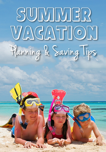 Summer Vacation Planning and Saving Tips | www.TheHeavyPurse.com