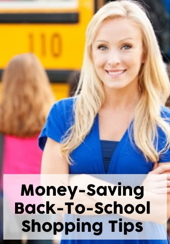 Money Saving Back To School Shopping Tips | www.TheHeavyPurse.com