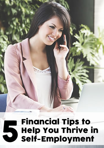 5 Financial Tips to Help You Thrive in Self Employment | www.TheHeavyPurse.com