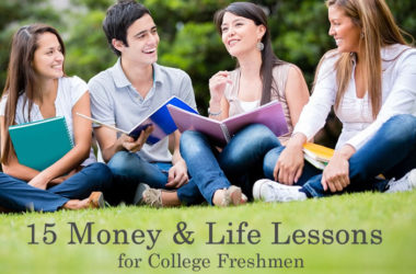15 Money and Life Lessons for College Freshmen | www.TheHeavyPurse.com