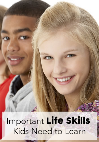 Important Life Skills Kids Need to Learn | www.TheHeavyPurse.com