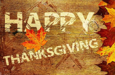 A Thanksgiving Message