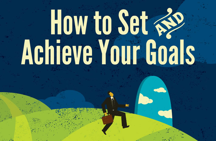 How To Set and Achieve Your Goals #Infographic