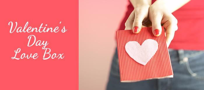 Valentine's Day Love Box