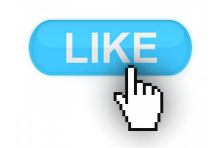 like with a thumbs up