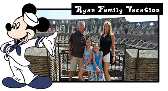 Ryan Disney Cruise