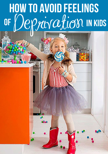How To Avoid Feelings of Deprivation in Kids | www.TheHeavyPurse.com