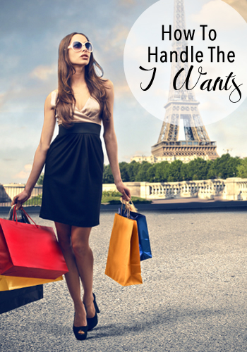 How To Handle the I Wants | www.TheHeavyPurse.com