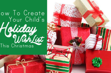 How to Create Your Child's Holiday Wish List this Christmas | www.TheHeavyPurse.com
