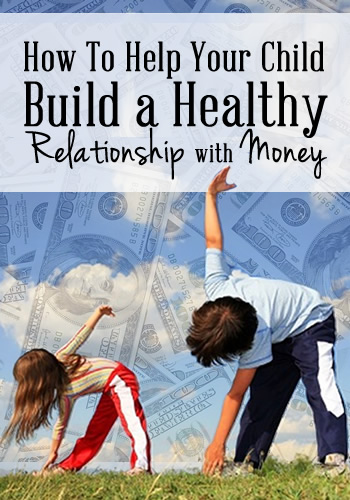 How To Help Your Kids Build a Healthy Relationship with Money | www.TheHeavyPurse.com