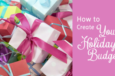 How to Create Your Holiday Budget and Avoid Debt | www.TheHeavyPurse.com #HolidayBudget #Debt