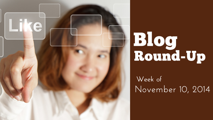 Blog Round-Up: Week of November 10, 2014
