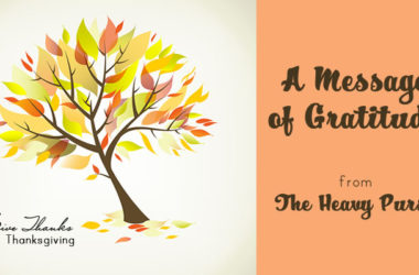 A Message of Gratitude | www.TheHeavyPurse.com