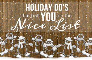 Holiday Do's that put You on the Nice List | www.TheHeavyPurse.com