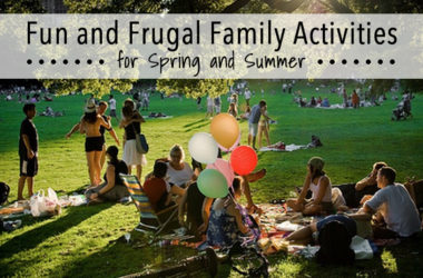 Fun and Frugal Family Activities for Spring and Summer | www.TheHeavyPurse.com
