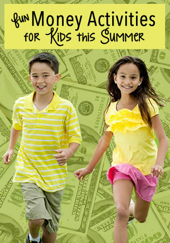 Fun Money Activities for Kids This Summer | www.TheHeavyPurse.com