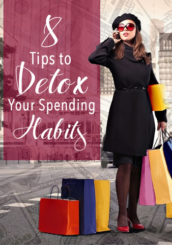8 TIps to Detox Your Spending Habits | www.TheHeavyPurse.com