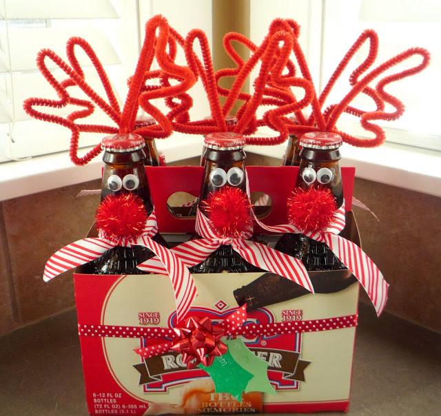 Reindeer Bottles