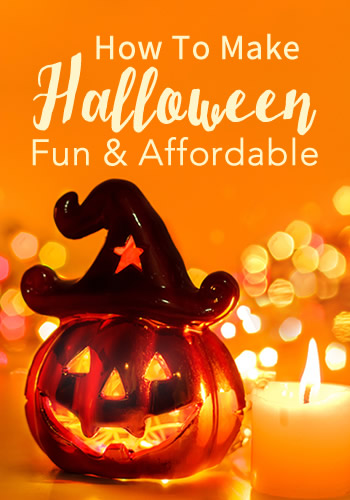 How To Make Halloween Fun and Affordable | www.TheHeavyPurse.com
