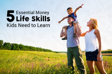 5 Essential Money Life Skills Kids Need to Learn | www.TheHeavyPurse.com