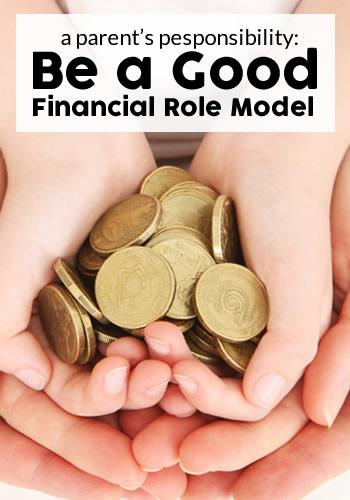 Be a Good Financial Role Model | www.TheHeavyPurse.com